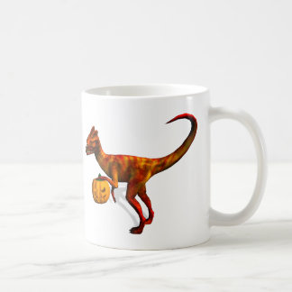 Halloween Dilophosaurus Coffee Mug