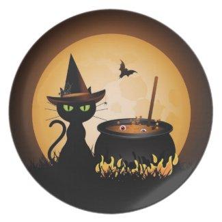 Halloween Dinner Plates