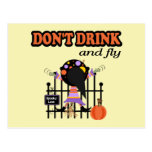 Halloween divertido tarjeta postal