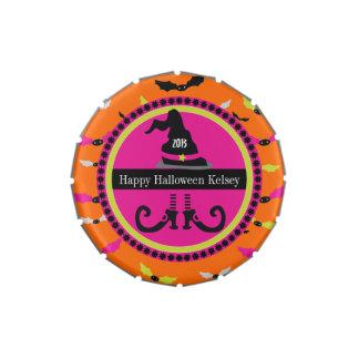Halloween Dizzy Bats Candy Tin
