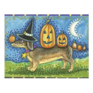 Halloween Dog Postcards