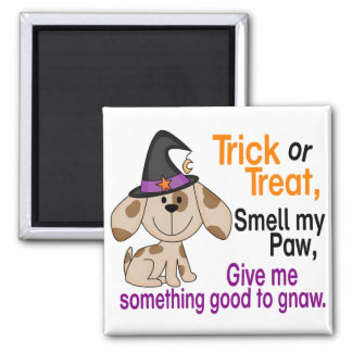 Halloween Dog Smell My Paw 1 Refrigerator Magnets