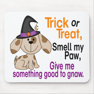Halloween Dog Smell My Paw 1 Mouse Pad