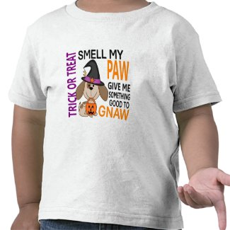 Halloween Dog Smell My Paw 2 shirt