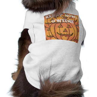 Halloween Doggie Ribbed Tank Top Dog Clothes