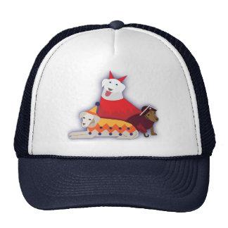 Halloween dogs trucker hat