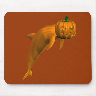 Halloween Dolphin Mouse Pad
