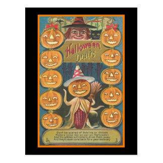 Halloween Donts Tarjeta Postal