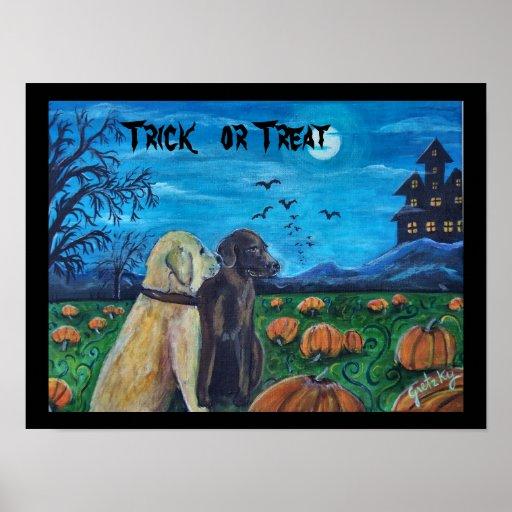 Halloween Door sign poster