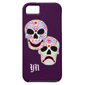 Halloween DOTD Comedy-Tragedy Skulls iPhone 5 Covers