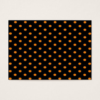 Halloween Dots Business Card