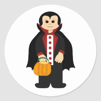 Halloween dracula stickers