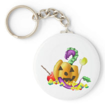 Halloween Dragon Keychain