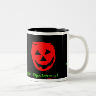 Halloween  Drink Two-Tone Coffee Mug