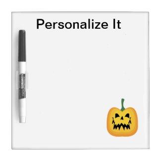 Halloween Dry Erase Board