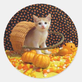 Halloween dulce de Annie (4380) Pegatina Redonda