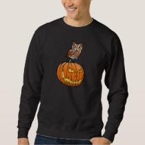 Halloween Eastern Screech Owl Sweatshirt