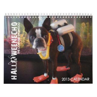 Halloween Echo 2013 Calendar