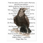 Halloween, Edgar Allen Poe, Raven, Nevermore Postcard