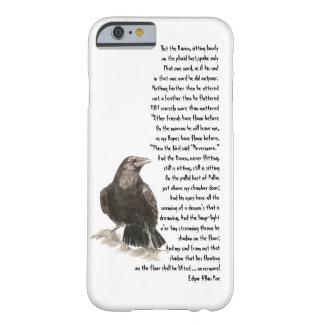 Halloween Edgar Allen Poe Raven Poem Barely There iPhone 6 Case