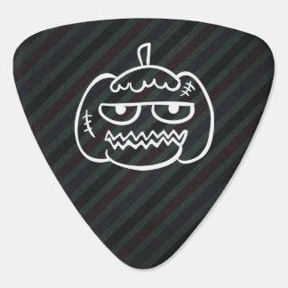 Halloween Eggheads Sign Guitar Pick