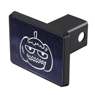 Halloween Eggheads Sign Tow Hitch Cover