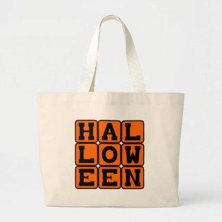 Halloween, el 31 de octubre día de fiesta bolsas de mano
