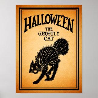 Halloween - el gato fantasmal - poster