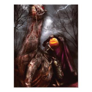Halloween - el jinete sin cabeza invitaciones personalizada