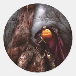 Halloween - el jinete sin cabeza pegatinas