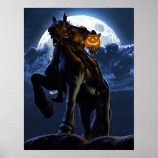 Halloween - el poster del jinete sin cabeza