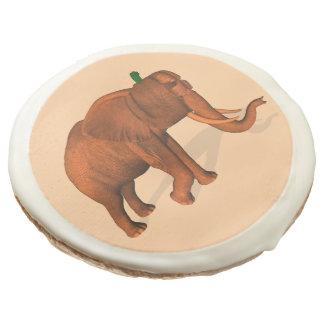 Halloween Elephant Sugar Cookie