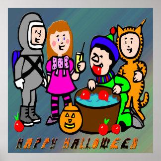 Halloween embroma el poster