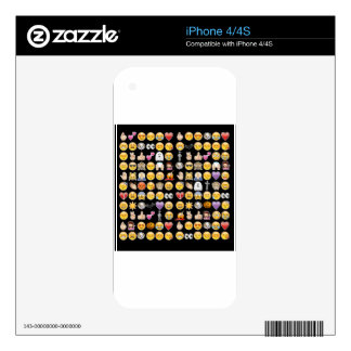 halloween emoji decal for the iPhone 4S