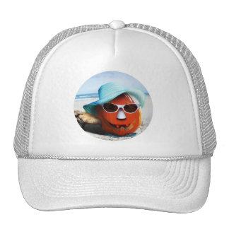 Halloween en la playa gorras de camionero