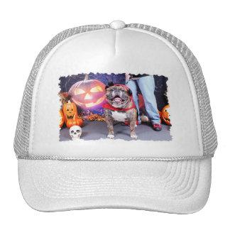Halloween - English Bulldog - Butkus Hat