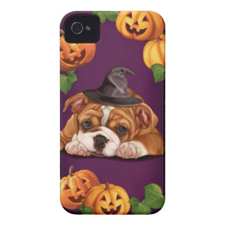 Halloween English Bulldog iPhone 4 Case-Mate Case