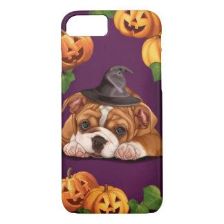 Halloween English Bulldog iPhone 8/7 Case