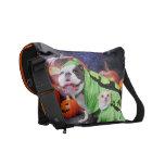 Halloween  English Bulldog Spike - Chihuahua Gizmo Commuter Bag