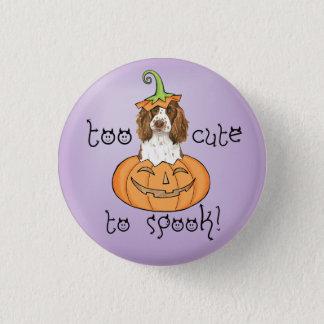 Halloween English Springer Spaniel Button