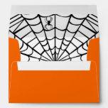 Halloween Envelope - Spider Web at Zazzle