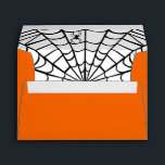 """Halloween Envelope - Spider Web<br><div class=""""desc"""">This cute,  colorful envelope coordinates with our &quot;Spider Web&quot; greeting card,  postage stamps and stickers. Make your Halloween greetings extra special with all of the coordinating items!</div>"""