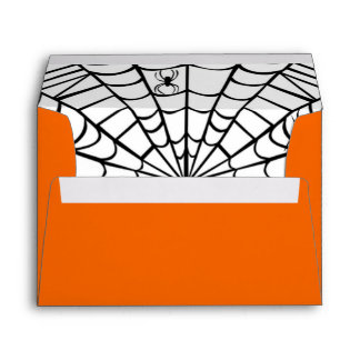 Halloween Envelope - Spider Web