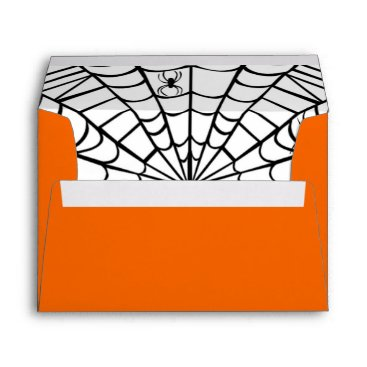 Halloween Themed Halloween Envelope - Spider Web