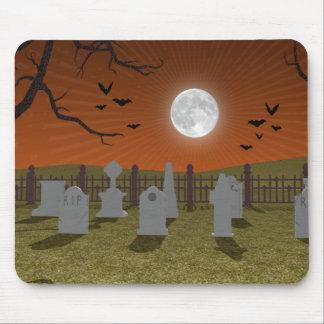 Halloween: Escena del cementerio: Mousepad