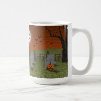 Halloween: Escena del cementerio: Tazas De Café
