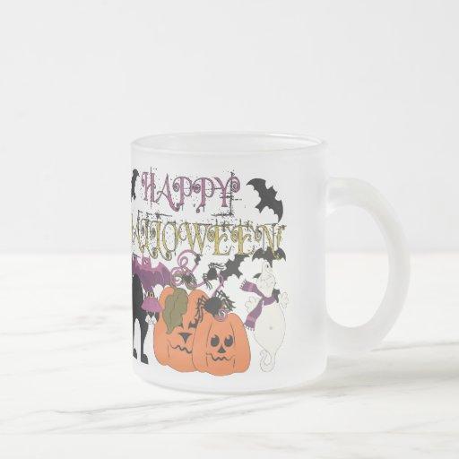 Halloween está aquí tazas