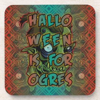 Halloween está para los ogros posavasos