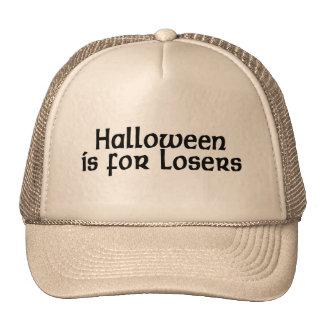Halloween está para los perdedores gorros bordados