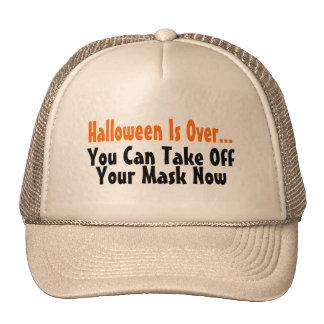 Halloween está sobre usted puede ahora sacar su má gorro